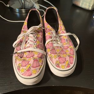 Nintendo Princess Peach Vans